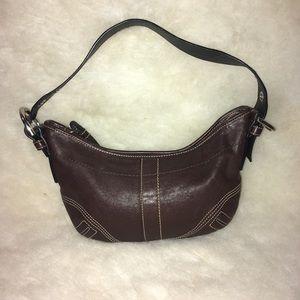 Authentic Coach Soho Boho shoulder bag.